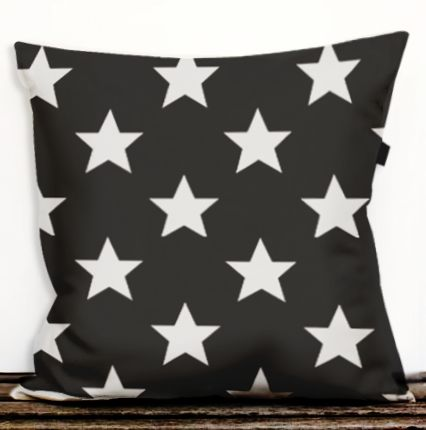 pillow Stars White dettagli home design