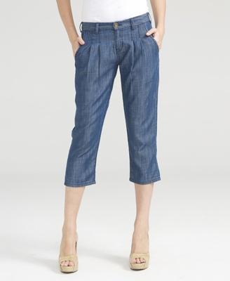 Lightweight Denim Trousers