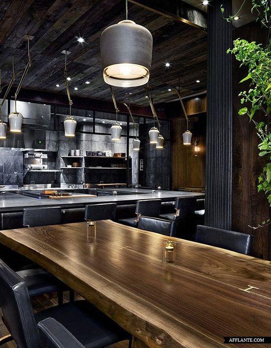 Atera Restaurant // Parts and Labor Design.