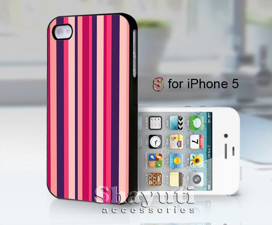 #pink #striped #case #samsung #iphone #cover #accessories