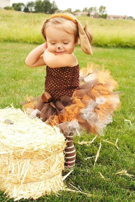 Pretty Little Pup Crochet Petti-Tutu Dress and Dog Ears Headband- SZ 0-2T. $55.00, via Etsy.