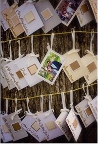 cute guest seating or wishes card