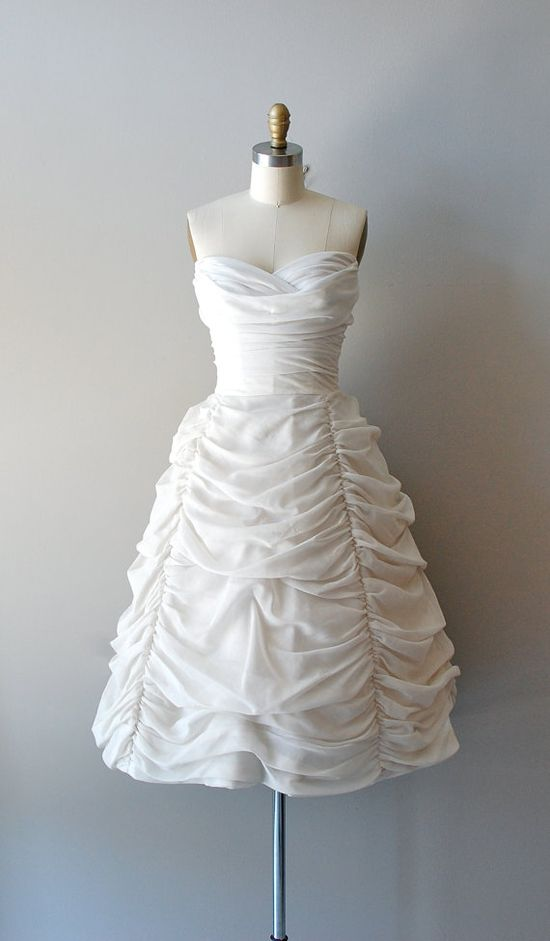~1950s white gown~