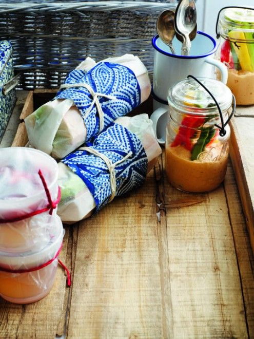 Summer picnic menu