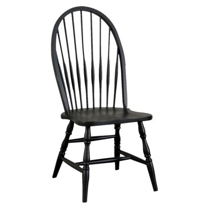 Windsor Dining Chair - Antique Black.Opens in a new window