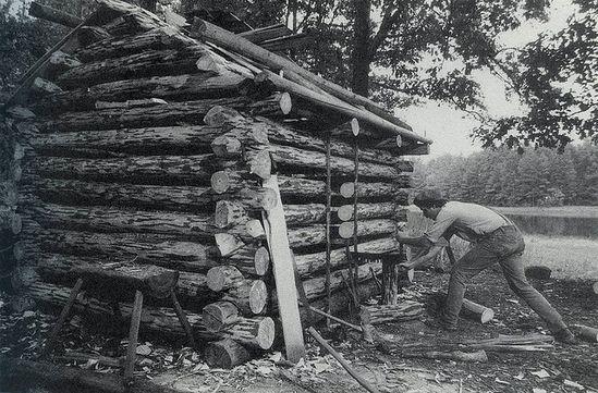 I want a log cabin.