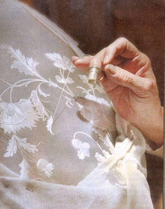 making princess lace