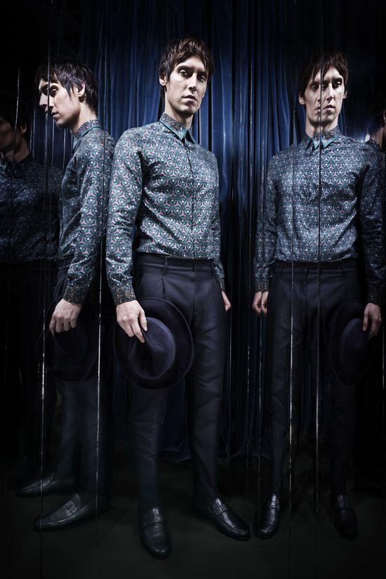 #RobertoCavalli Menswear FW 2013-14 collection