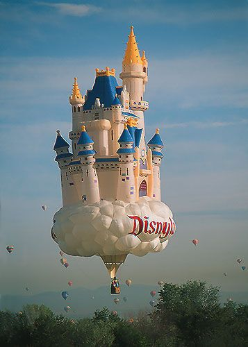 disney castle!