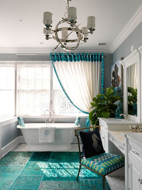 House of Turquoise:  Trina Turk for Schumacher
