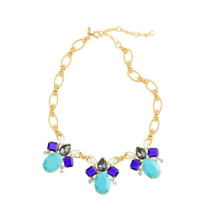 J. Crew Color drop necklace
