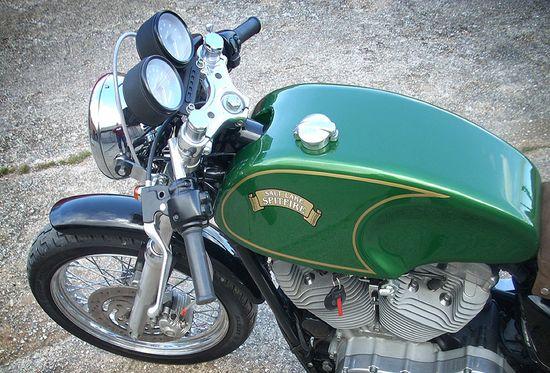 Harley Sportster Café Racer - Pipeburn - Purveyors of Classic Motorcycles, Cafe Racers & Custom motorbikes
