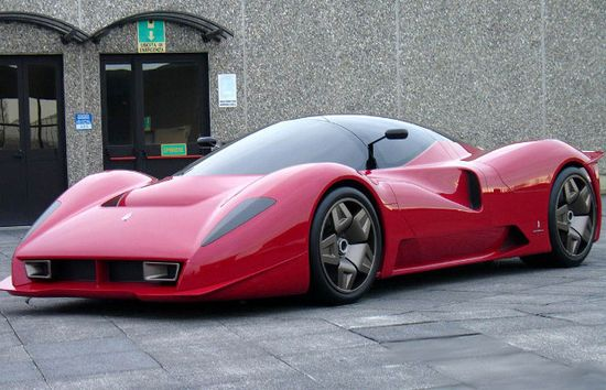 Infinitely more sexy version of an Enzo. The Amazing Ferrari P4/5