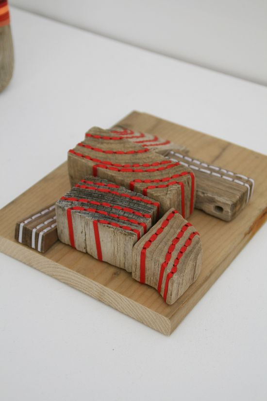stitching wood