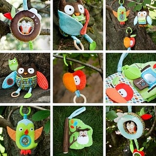 Owl baby toys