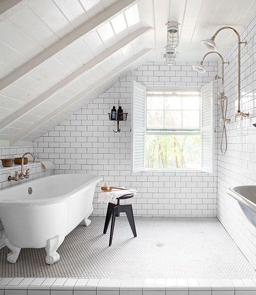 incredible all-white bathroom