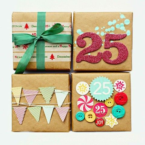 Pretty Your Packages - 15 Festive Gift Wrap Ideas