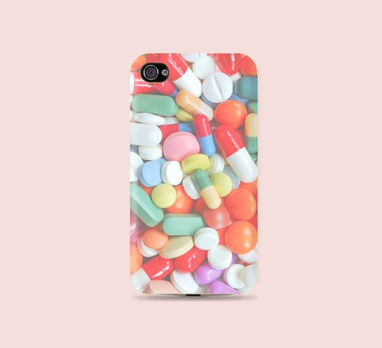 Pastel Pill iphone case