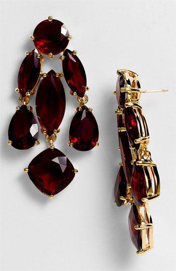 kate spade new york statement chandelier earrings