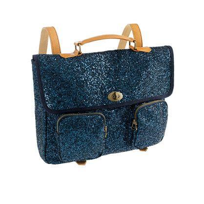 j.crew glitter backpack