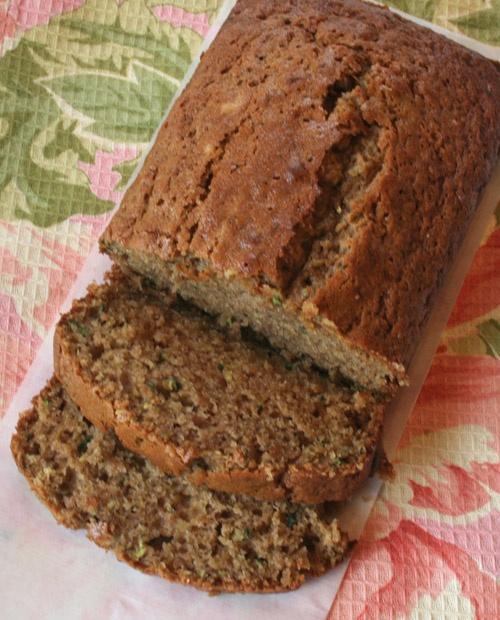 Zuccini Spice bread...I will definitely make this again...a great use of zuccini!