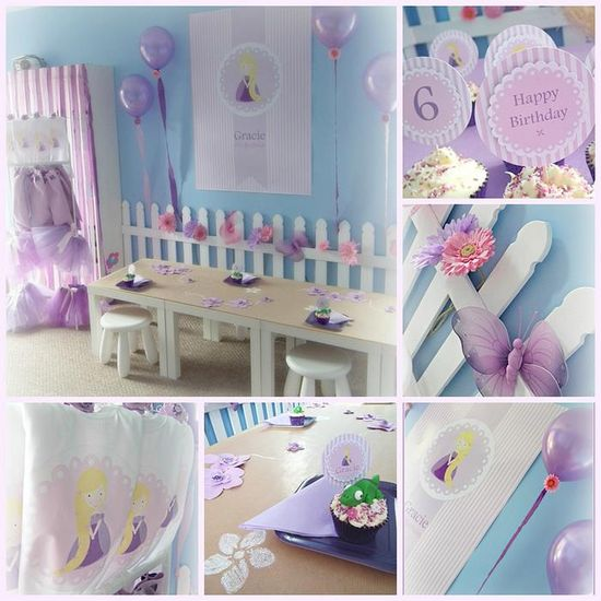 Rapunzel Inspired Birthday Party Full of Cute Ideas via Kara's Party Ideas