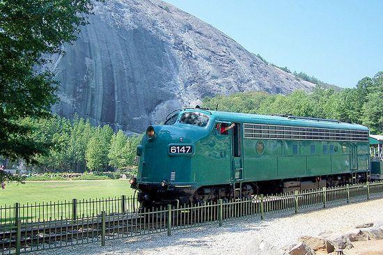 Stone Mountain Scenic Railroad, Georgia by J. Stephen Conn, via Flickr