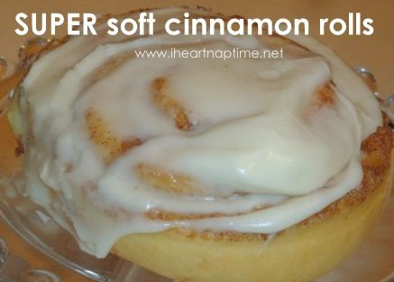 These are the best cinnamon rolls! #food