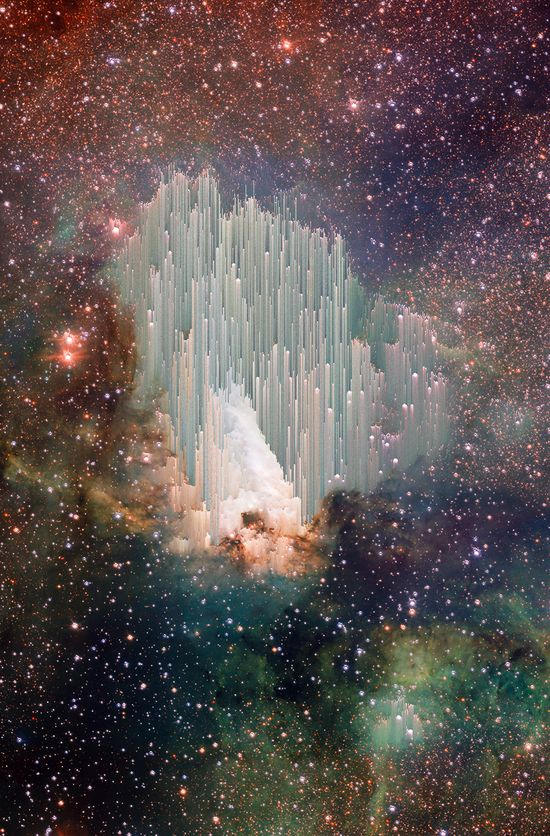 ? Swan nebula~ the heavens declare the glory of God