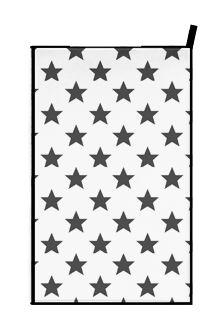 Towel STARS dettagli home design