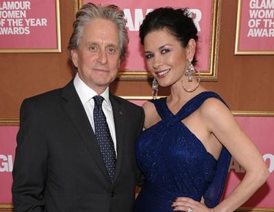 Catherine Zeta Jones and Michael Douglas: top celebrity couple