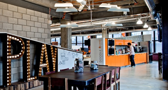 Quicken Loans' Innovative and Colorful Offices in Downtown Detroit - Office Snapshots