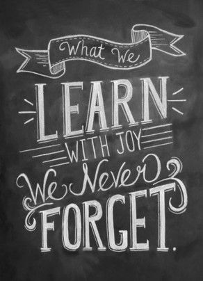 Learn with Joy - Happy National Teacher's Day to all those who have influenced and taught us along our personal journey...