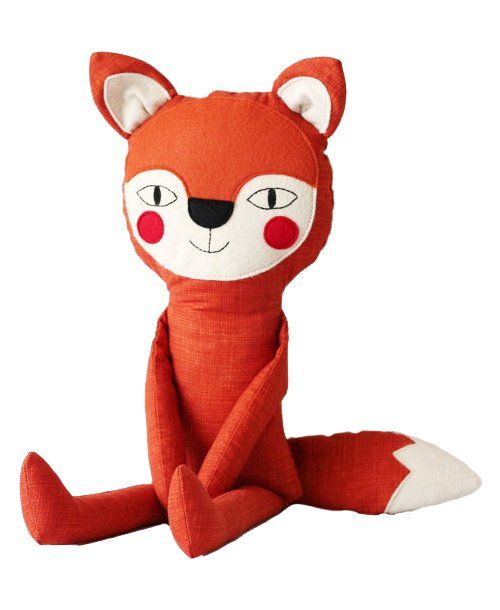 Mr. Fox, charming and friendly fox stuffed animal toy
