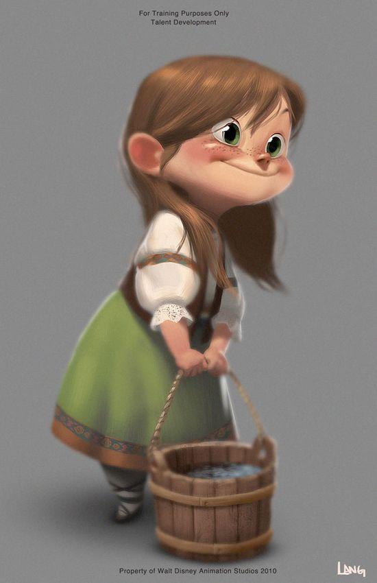 Girl Character #girl #cartoon #character
