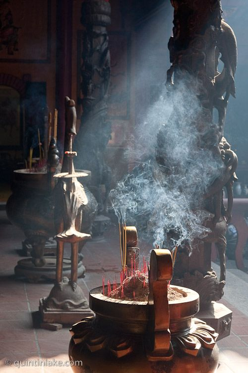 Ha Chuong Hoi Quan, Fijian Pagoda, Cholon (Chinatown), Ho Chi Minh City (Saigon), Vietnam © Quintin Lake