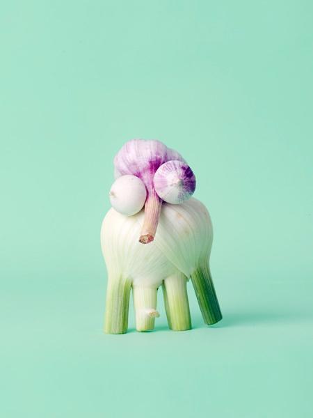 LOL Carl Kleiner food sculptures