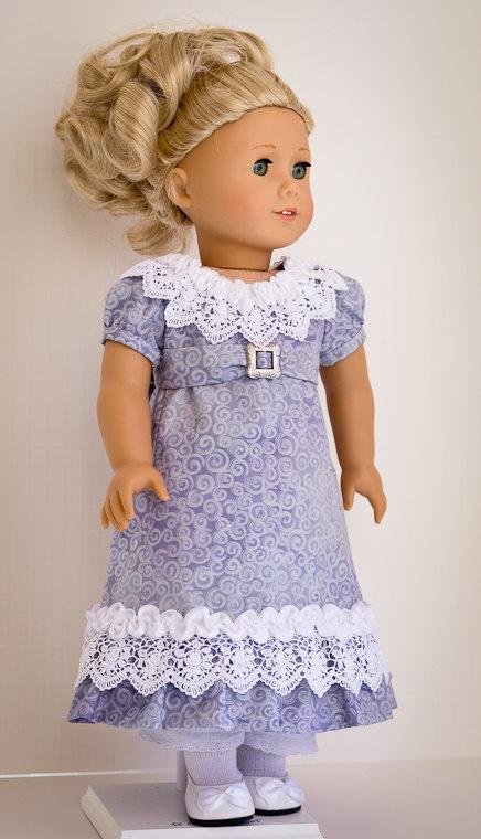 Pretty regency dress