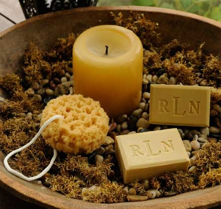 Spa Chic Personalized Soap Gift Set with Loofa Sponge ~ $28.95