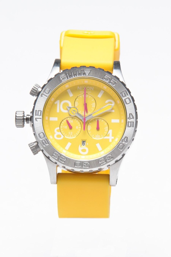 Cool Yellow Watch.