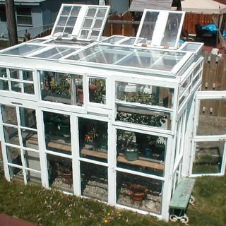 How To Build A Greenhouse From Old Windows Project » The Homestead Survival