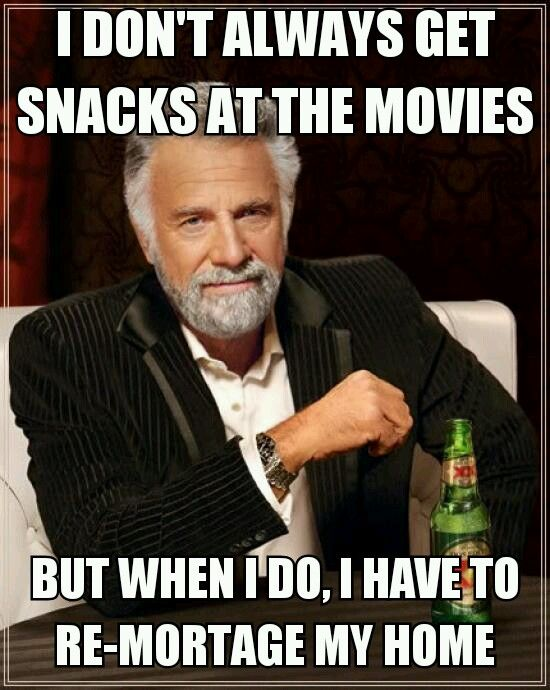Movie snacks...