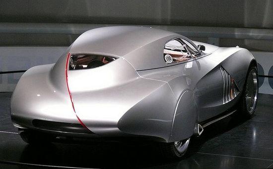 BMW Mille Miglia Concept Car 2006 silver hr