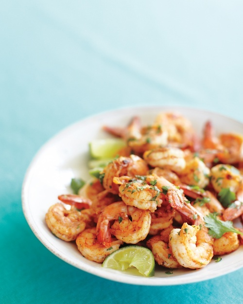 Spicy Shrimp with Lime and Cilantro - Martha Stewart Recipes