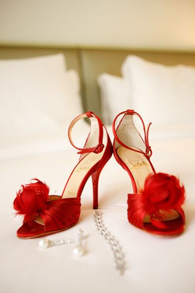 red shoes ?