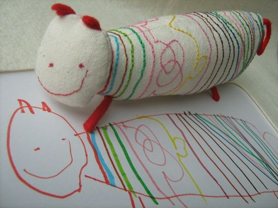 This company will craft a real toy from a child's drawing. Absolutely AMAZING!! Some day I will be happy I pinned this