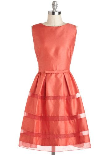 sweet a-line dress - loving this color!