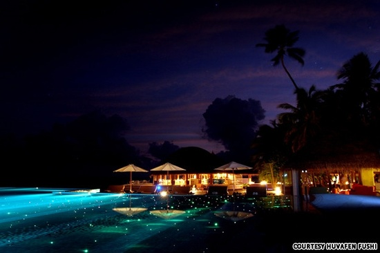 Starry Lights infinity pool