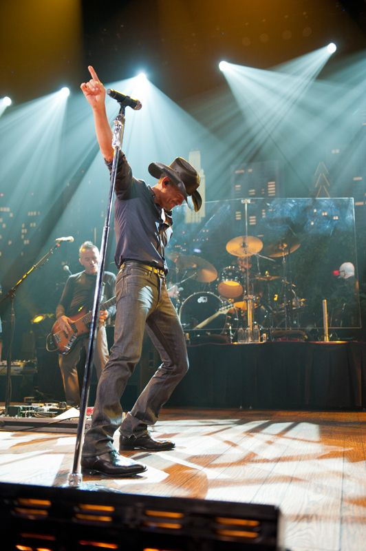 """Tim McGraw took a break from summer 2012's most popular tour to perform on the Austin City Limits stage. NPR Music calls him a """"star w/ substance""""… do you agree?"""