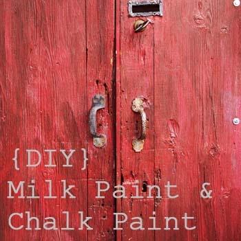 Milk paint and chalk paint recipes